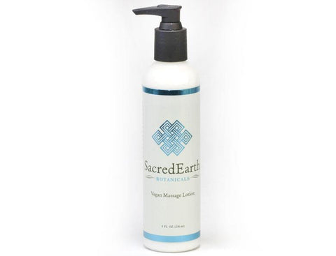 Custom Craftworks Sacred Earth Vegan Massage Lotion