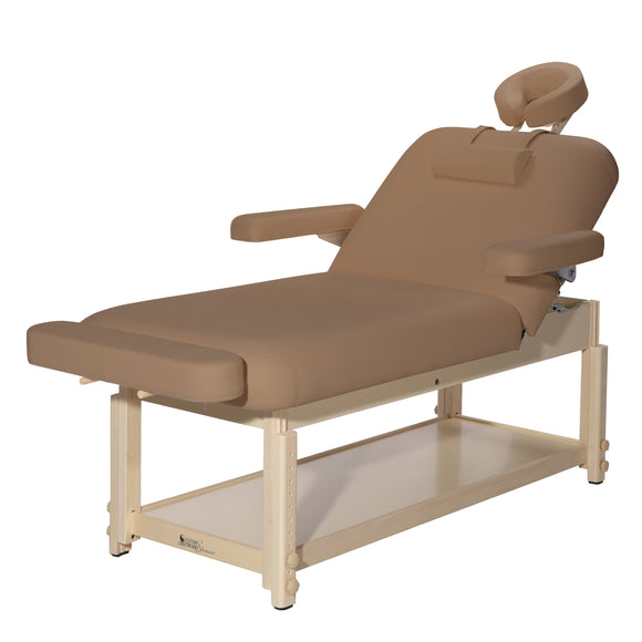 Custom Craftworks AURA LIFTBACK Stationary Massage Table