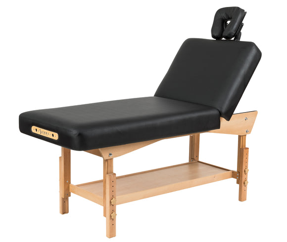 Sierra Comfort Adjustable Backrest Stationary Massage Table