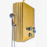 Water Werks BRASS MONKEY Vichy Shower with Cold Plunge