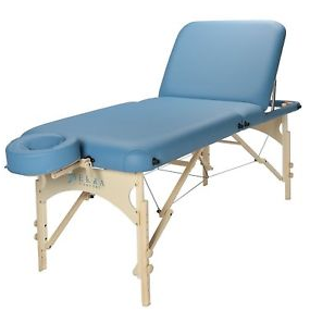 Sierra Comfort DELUXE Adjustable Backrest Portable Massage Table