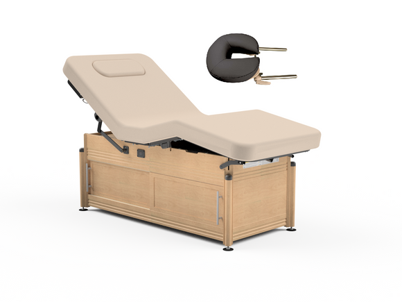 Oakworks CLINICIAN Electric-Hydraulic Lift-assist Salon Top