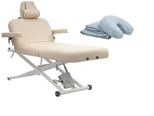 Custom Craftworks ELEGANCE PRO DELUXE Electric Lift Massage Table