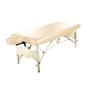 Master Massage Universal Fabric Fitted PU Vinyl leather Protection Cover for Massage Tables in Cream