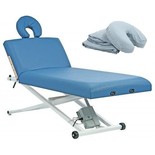 Custom Craftworks ELEGANCE PRO LIFT BACK Electric Lift Massage Table