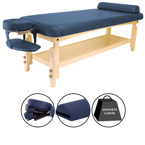 Master Massage LAGUNA Stationary Massage Table Package