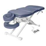 "Master Massage 29"" TheraMaster™ 4 Section Electric Bodywork Table-Royal Blue"