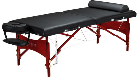 Master Massage ROMA Portable Massage Table Package with THERMA-TOP