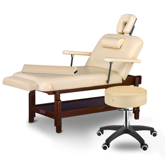 Master Massage SAMSON Salon Top LX Stationary Table Package