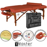 Master Massage SANTANA Therma-Top Portable Massage Table Package