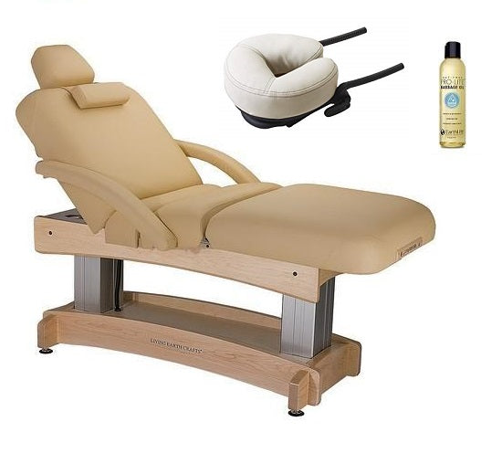 Living Earth Crafts ASPEN Salon Top Spa Treatment Electric Lift Table