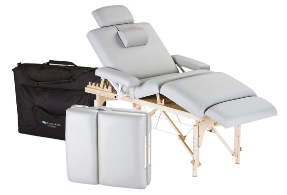 Sterling EarthLite CALISTOGA Portable Lift Back Salon Table