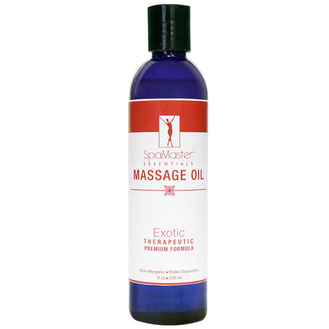 Master Massage Oil 8 oz. Single Bottle EXOTIC