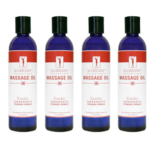 Master Massage Oil 8 oz. 4-pack EXOTIC