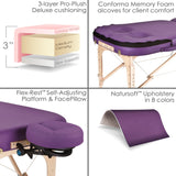 Earthlite INFINITY CONFORMA Massage Table