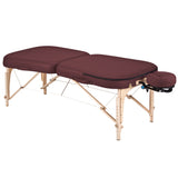 Burgundy Earthlite INFINITY CONFORMA Massage Table