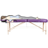 Amethyst Earthlite INFINITY CONFORMA Massage Table with Breast Recesses