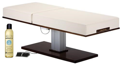 Living Earth Crafts LEC Pedestal Manual Tilt Electric Lift Table