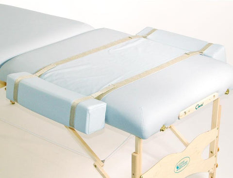Massage Table Arm Extensions ... Craftworks Premium Bolster Side Arm Extensions | BuyMassageTables.com