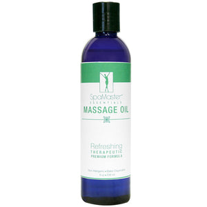 Master Massage Oil 8 oz. Single Bottle REFRESHING