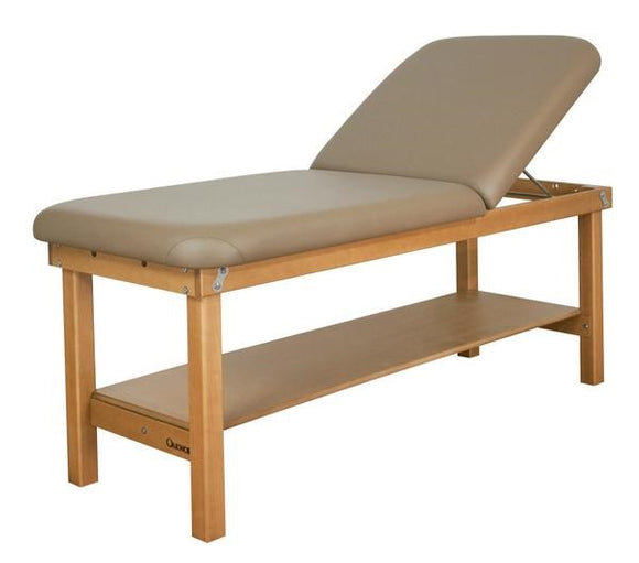 Oakworks SEYCHELLE Wave Backrest Stationary Massage Table
