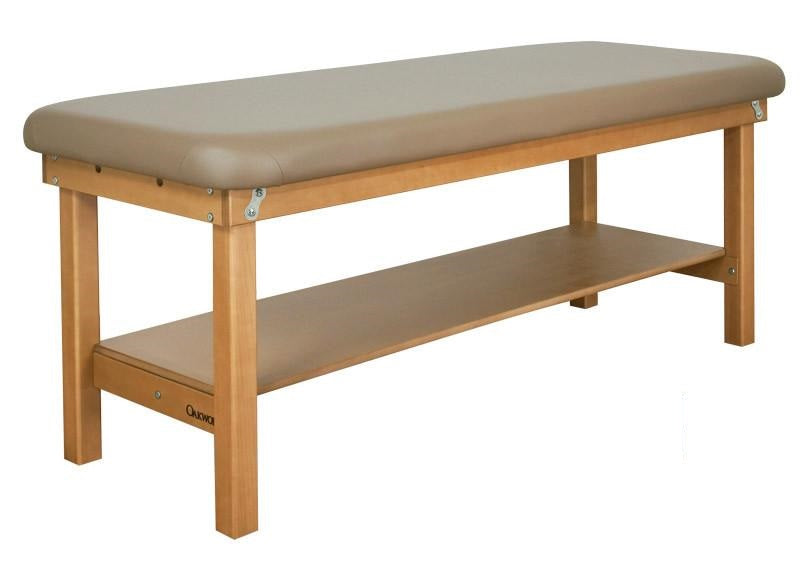 Oakworks SEYCHELLE Flat Top Stationary Massage Table
