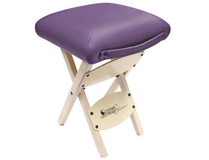 Custom Craftworks Solutions Wooden Folding Stool