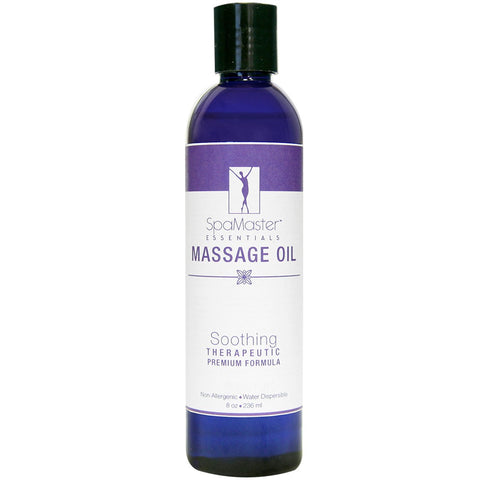 Master Massage Oil 8 oz. Single Bottle SOOTHING