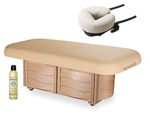 Living Earth Crafts NUAGE Flat Spa Cuvée Cabinetry Electric Lift Table