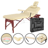 Master Massage SPAMASTER Lift Back Salon Portable Table Package
