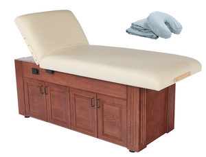 Custom Craftworks M100 Lift Back Electric Spa Table