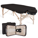 Black EarthLite SPIRIT Portable Massage Table