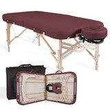 Burgundy EarthLite SPIRIT Portable Massage Table