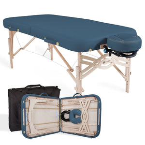 Blue EarthLite SPIRIT Portable Massage Table