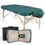 Teal EarthLite SPIRIT Portable Massage Table