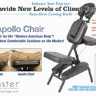 Master Massage APOLLO XXL Portable Massage Chair Package