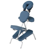 Blue EarthLite VORTEX Portable Massage Chair