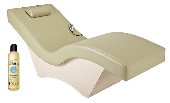 Living Earth Crafts WAVE Lounger with Laminate Base