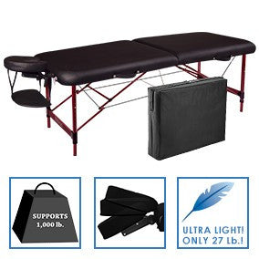 Master Massage ZEPHYR Portable Massage Table Package