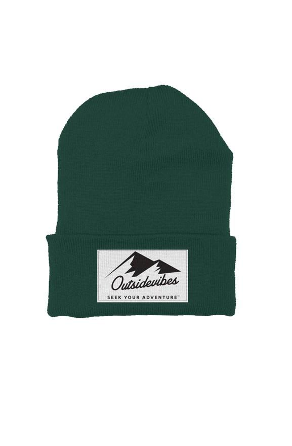 Outsidevibes Forest Green Beanie