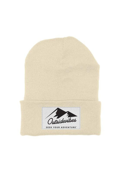 Outsidevibes Cream Beanie
