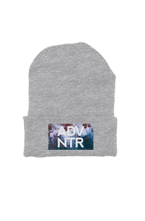 ADVNTR Wave Heather Grey Beanie