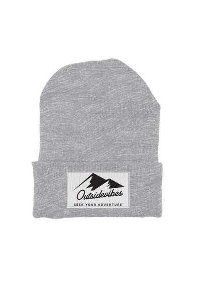 Outsidevibes Heather Grey Beanie