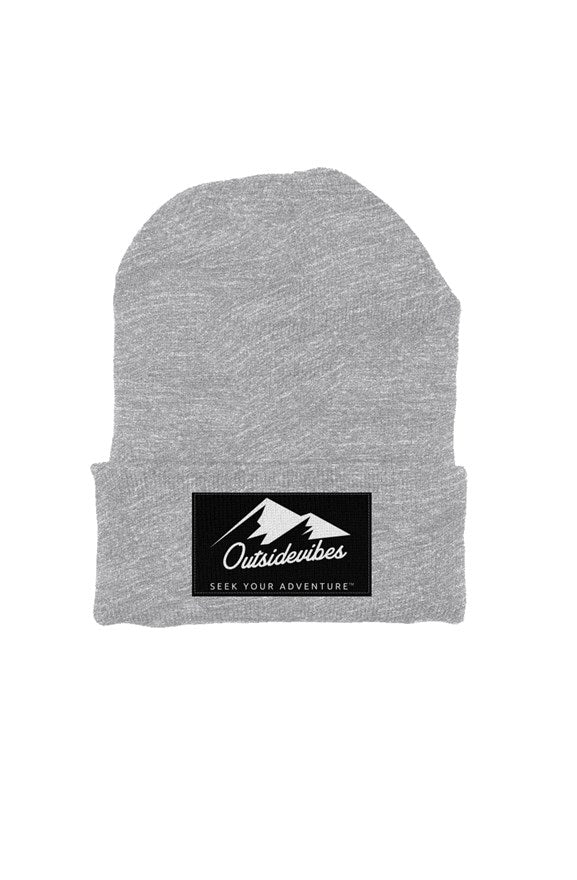 Outsidevibes Classic Beanie Heather Grey