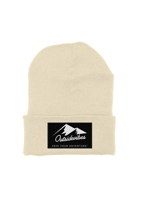 Outsidevibes Classic Beanie Cream