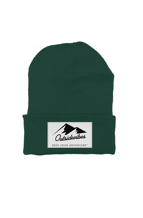 Outsidevibes Classic Beanie Forest Green