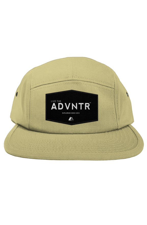 Outsidevibes Travel 5 Panel Khaki Cap