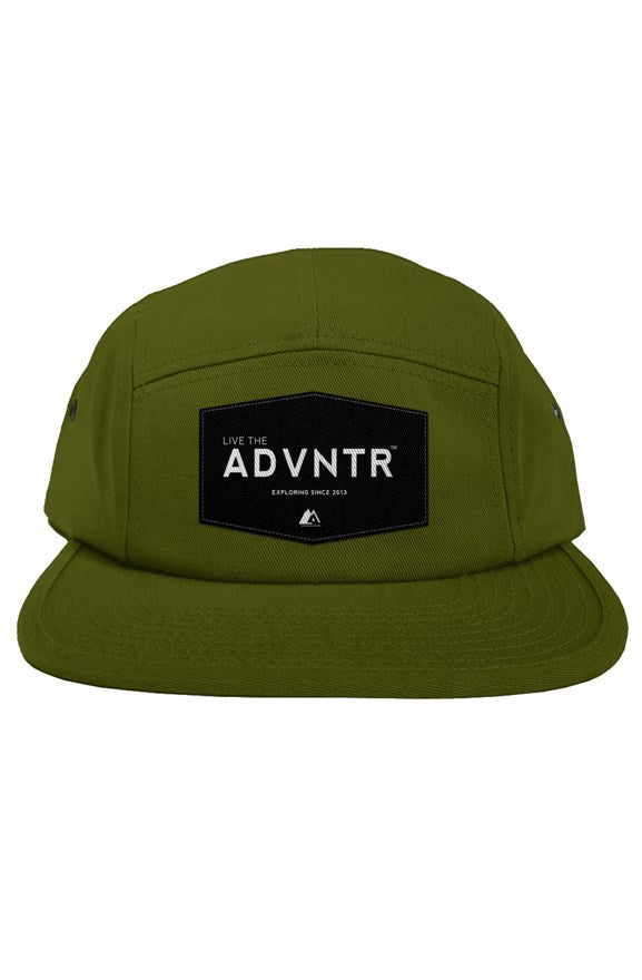 Outsidevibes Travel 5 Panel Olive Cap