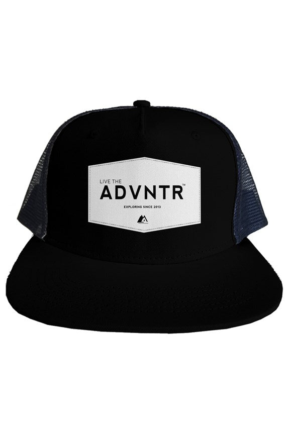 Outsidevibes Travel Trucker Mesh Hat Black