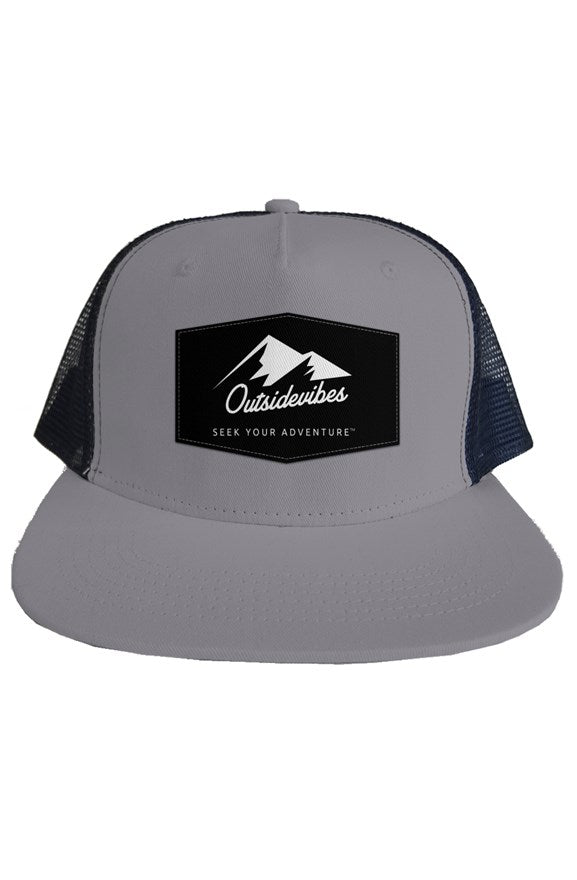 Outsidevibes Adventure Trucker Mesh Hat Grey